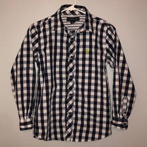 Boys U.S. POLO ASSN Button Down Shirt